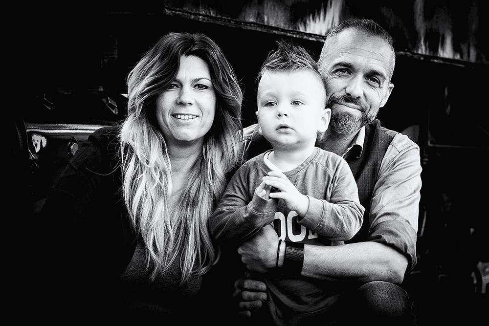 Familiefoto Zeeland